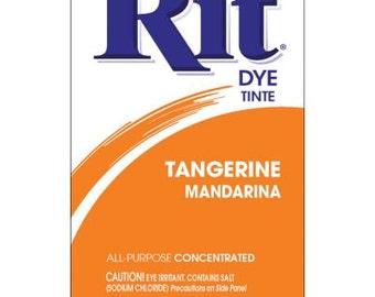 TANGERINE Rit Dye Fabric Dye Rit Dye Powder Fabric Dye