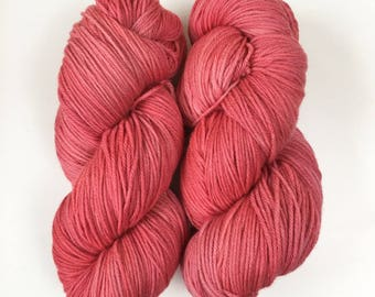 Give Me Roses. 200g 8ply/DK (double knit) weight yarn.  Kettle Dyed. New Zealand Polwarth Yarn.