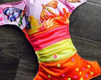 Pre-order - Cloth diaper - cloth diaper Dragonfly dragonfly