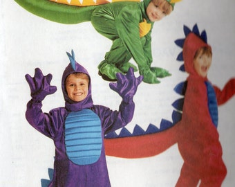 DRAGONS McCall's Costumes Pattern 2335 Child's 3-4