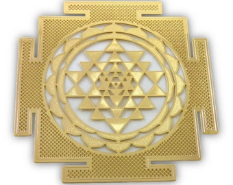 Shree Yantra or Sri Yantra Symbol YA-48