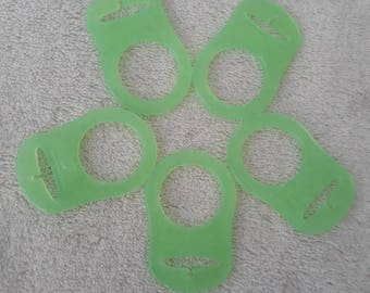 No. 4-7 adapters silicone pacifier and pacifier creation
