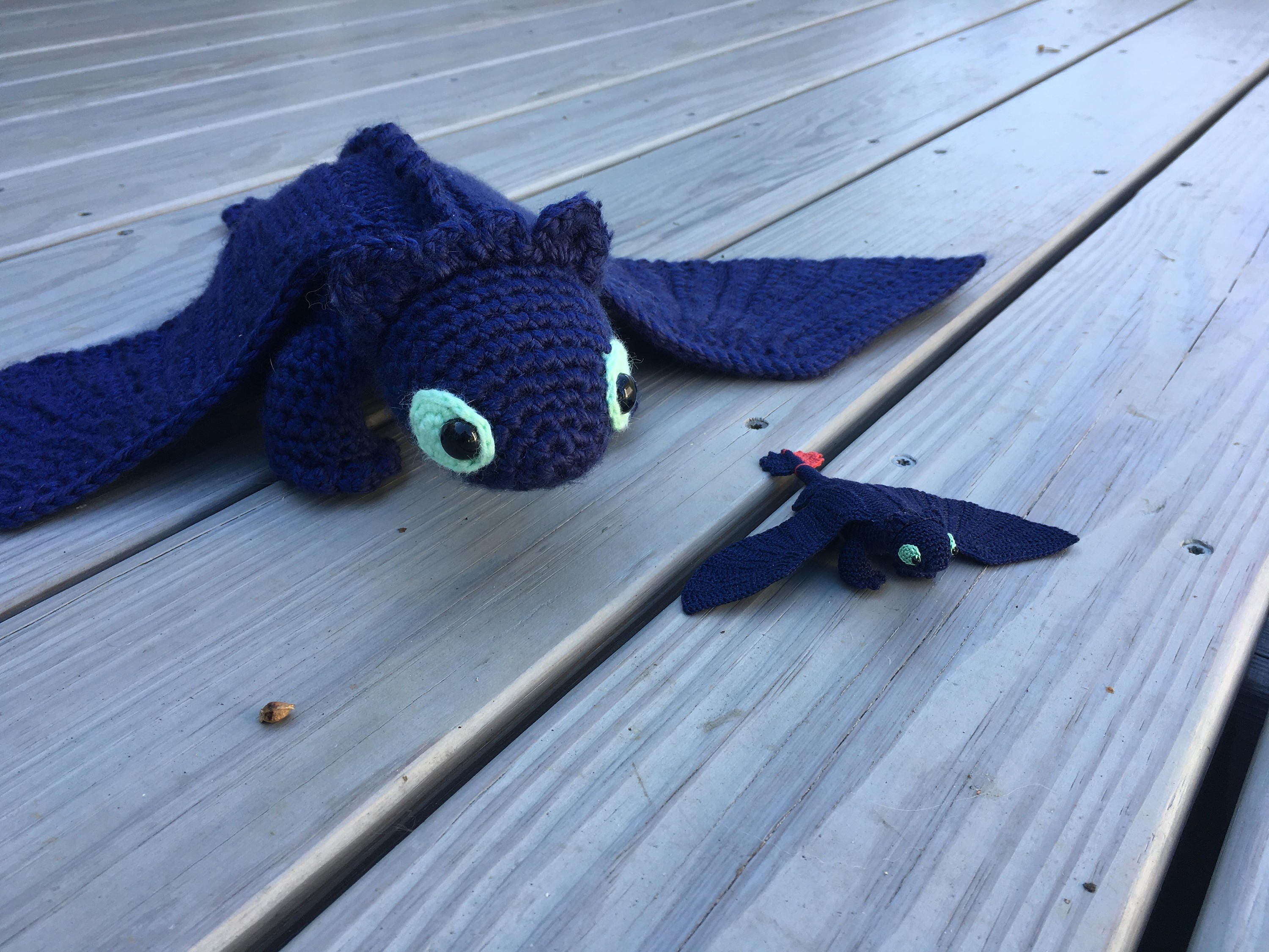 Toothless Dragon Amigurumi Pattern : Toothless night fury crochet pattern how to train your dragon