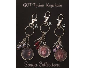 Game Of Thrones Tyrian Lanister Keychain