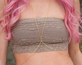 Body chain   Simple Gold Body Chain   Simple Silver Body Chain   Gold Body Jewelry   Body Chain
