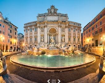 Rome Photography, Rome Print, Italy Art Print, Trevi Fountain Print, Fontana Trevi, Travel Photography, Italy Wall Art, Italian Decor, Rome,