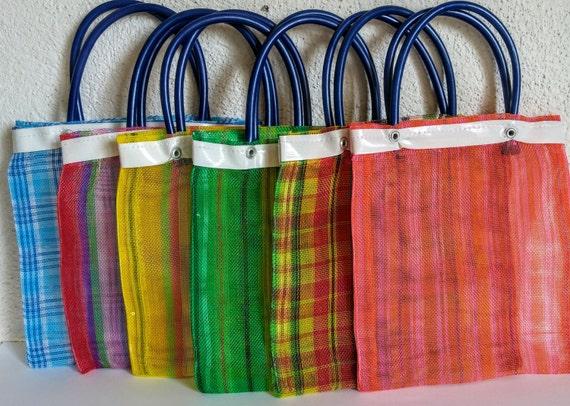 12 Mexican mercado bag Mexican mini mercado bag Cinco de   Chalupa Mexican Mercado Bags
