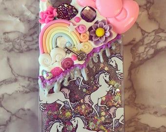 Unicorn Rainbow Decoden iPhone 6 Plus case