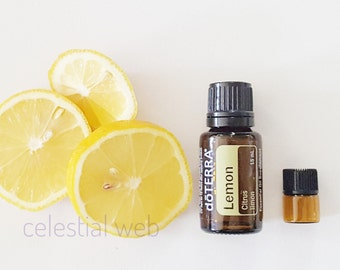 Lemon Essential Oil Sample, Lemon Essential Oil, Essential Oil Sample