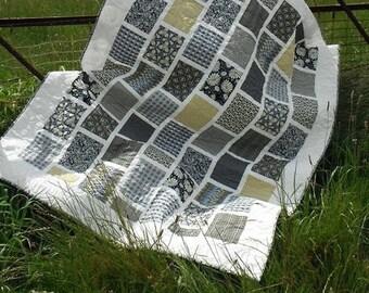 Groovy Bricks Quilt Pattern