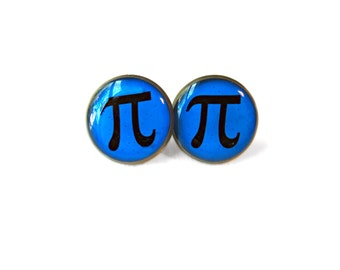 Pi Earrings - Funny Math Pun Pop Culture Jewelry