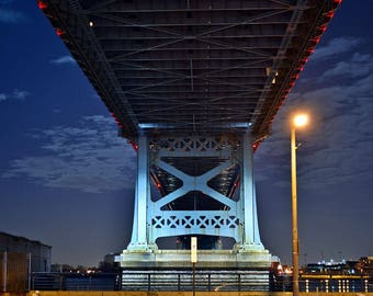 Benjamin Franklin Bridge,Philadelhia,PA