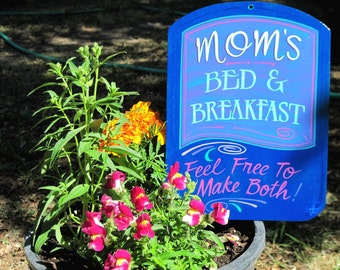 MOM'S Bed and Breakfast Wall Sign,  Made To Order