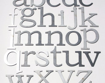 """Classic 4"""" Lowercase 