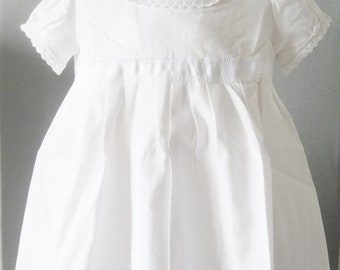 Christening robe for 12-month-old baby