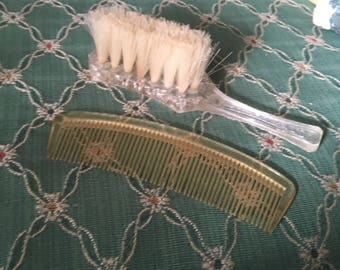 Vintage  dollies pride brush and comb