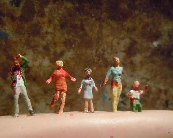 Tiny zombie family