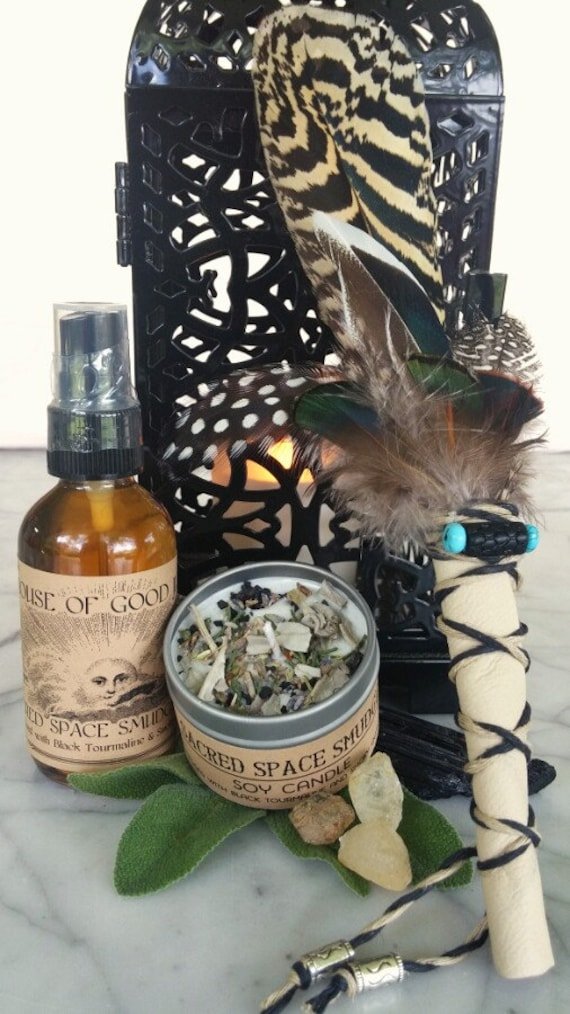 Sacred Space Smudge Ceremony Kit
