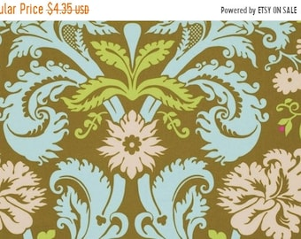 Summer Clearance Amy Butler Fabric - Acanthus in Olive from the Belle Collection - Half Yard