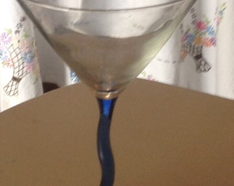 Decorative Bling Martini Glass