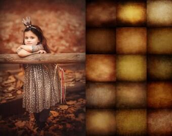 15 Autumn textures set 2, Autumn overlays, photoshop textures