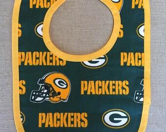 Green Bay Packers Baby Bib
