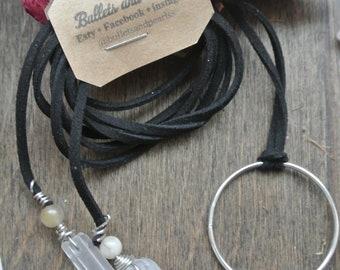 three-way wrap necklace