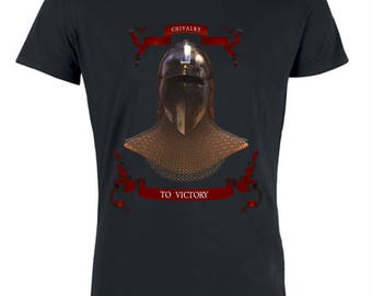T-shirt medieval fight chivalry