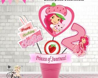 Strawberry shortcake invitation etsy filmwisefo