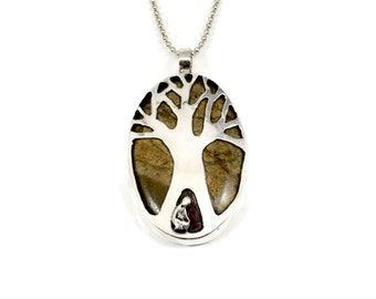 Sterling Tree Jewelry For Women, Sterling Meaningful Jewelry, Sterling Tree Nature Jewelry, Robin Wade Jewelry, Luna Loves Nature,  2357