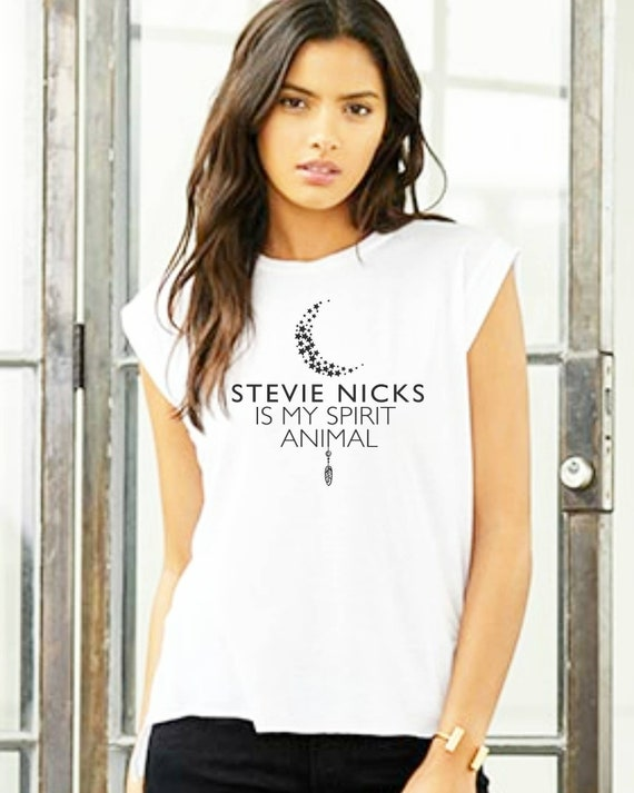 STEVIE NICKS Is My Spirit Animal, Stevie Nicks Tshirt, Stevie Nicks Tee, Stevie Shirts, Fleetwood Mac Tshirts, Stevie Nicks