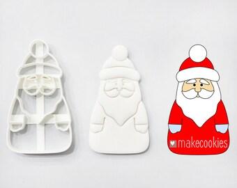 Santa Claus 15 Cookie Cutter