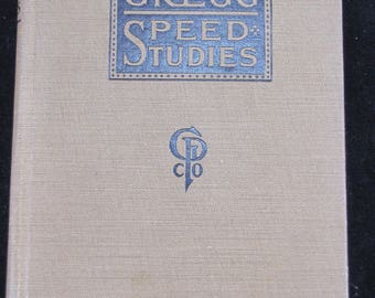 Gregg Speed Studies , 1917 1st Edition