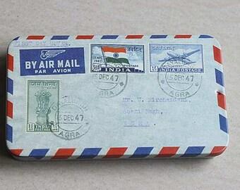 Scrapbook Little Name Card Box Airmail Envelope