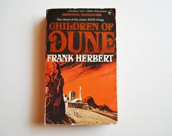 Children of Dune  by Frank Herbert (Dune Trilogy Book 3) (1977)