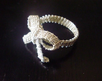 Wire Wrapped Bow Ring Tutorial