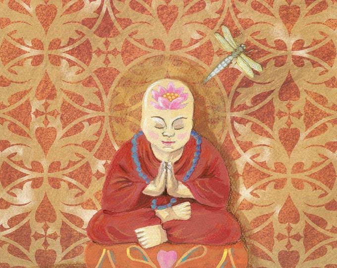 Open Mindfulness art print