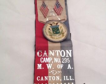 Whitehead Hoag Co. Modern Woodsmen of America Medal