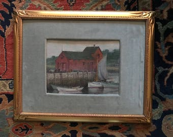 1920's Rockport Painting by Willam Gray