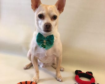READY TO SHIP,Free shipping Adjustable Fashionable Bow Tie, Fits Neck 10-14.5 inches, Children Dog Cat Pet Accessories.