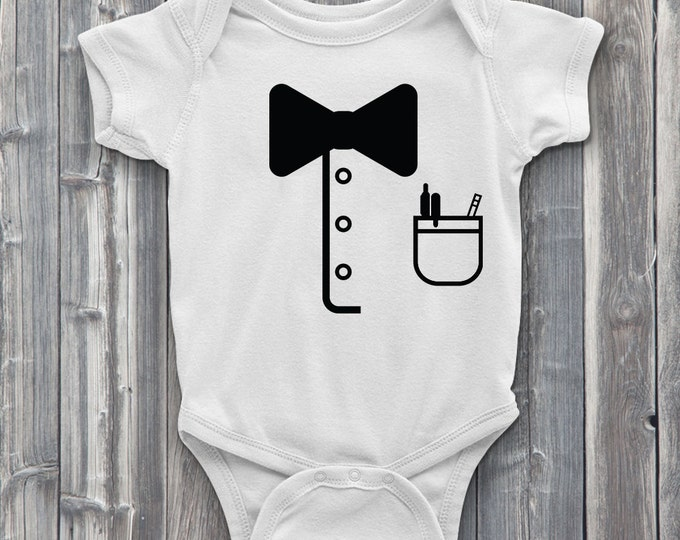 Little Nerd 100% Soft Cotton ONESIE