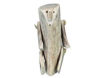 Native Made Inuit Antler Doll : Large