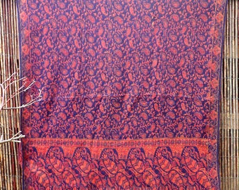 SALE**Blanket scarf, shawl, sofa throw, meditation blanket, picnic rug, paisley, ethnic, festival, pixie, boho, bohemian, gypsy style.
