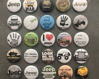 Jeep Magnets - set of 25!
