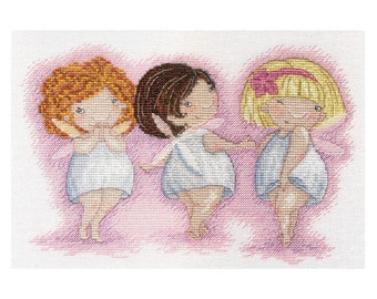 Cross Stitch Kit Fairies