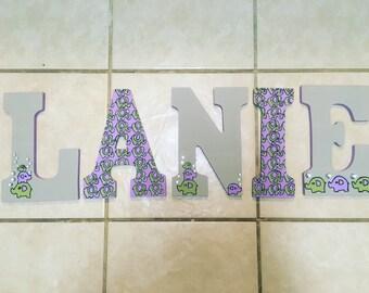 Custom Made Nursery letters