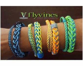 Flyvines Recycled Fly Line Fishing Bracelet