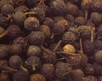 Cubeb Berries, Whole - Certified Organic