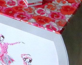 Ribbon embroidery kit, Petits rats