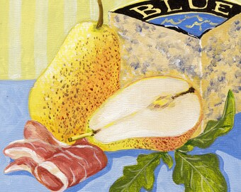 Pear & Proscuitto Print